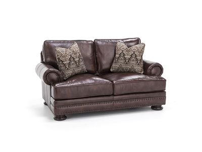 Westbury Leather Loveseat