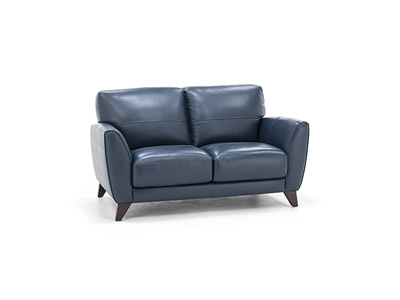Martini Leather Loveseat