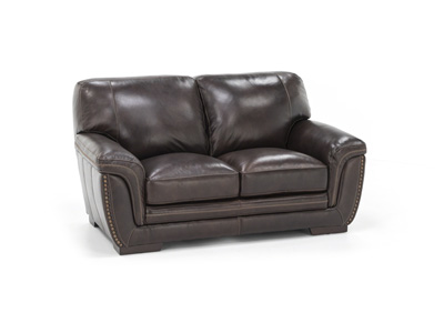 Mikaela Leather Loveseat