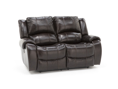 Tyler Leather Reclining Loveseat