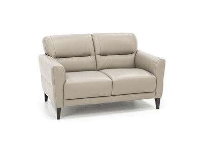 Rome Leather Loveseat