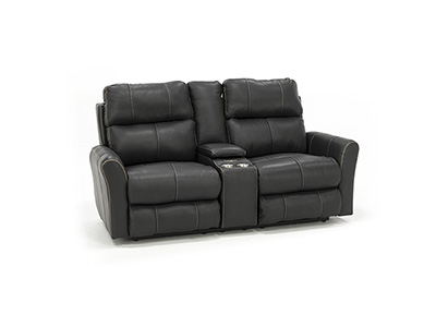 Sheldon Fully Loaded Lay-Flat Console Loveseat