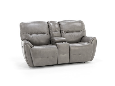 Derek Power Console Loveseat