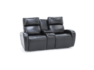 Avant Power Recline Console Loveseat
