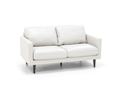 Devon Leather  Loveseat