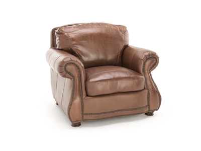 Anna Lynn Leather Chair