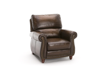 Parker Pressback Leather Recliner
