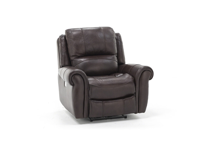 Sofia Leather Power Headrest Recliner