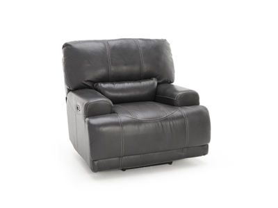 Plateau Leather Power Recliner