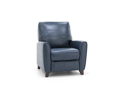 Martini Leather Push-back Recliner