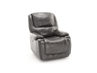 Midos Leather Power Glider Recliner