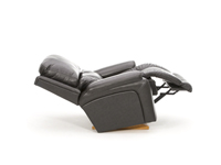 Greyson Leather Power Rocker Recliner