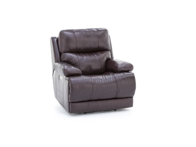 Kasey Leather Fully Loaded Wall Recliner
