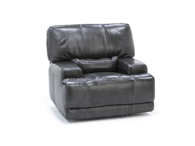 Placier Leather Power Headrest Recliner