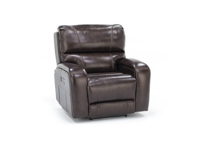 Mason Leather Fully Loaded Recliner