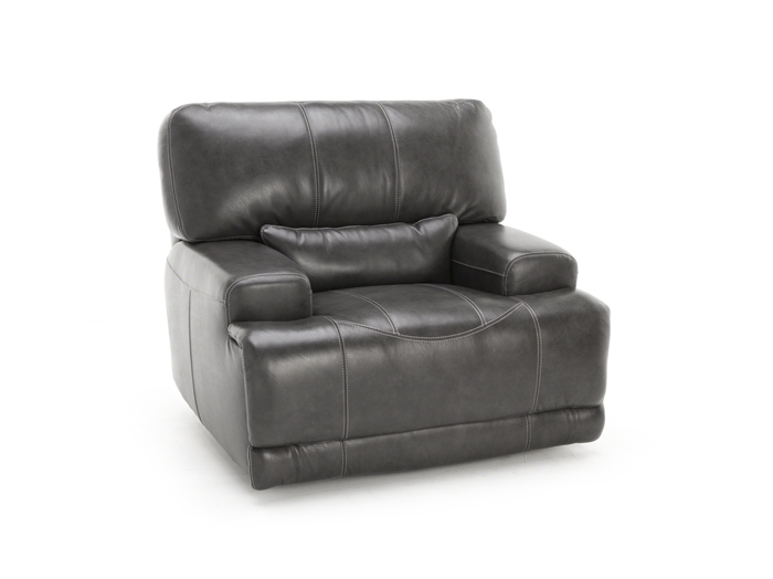 Placier Leather Power Recliner