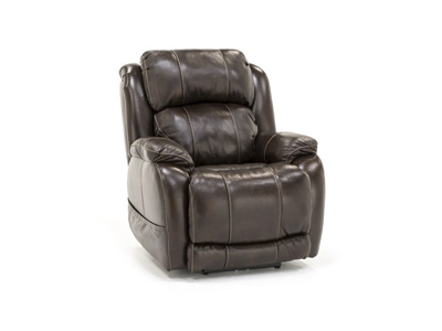 Milan Leather Fully Loaded Recliner