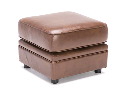 Viceroy Leather Ottoman