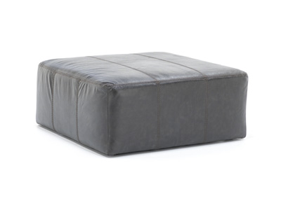 Camden Leather Cocktail Ottoman