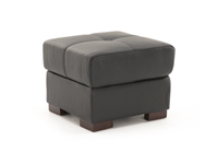 Bovale Leather Ottoman