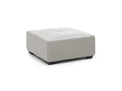 Chiara Leather Cocktail Ottoman