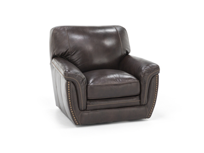Mikaela Leather Swivel Chair