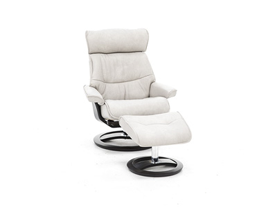 Griffin Chair & Ottoman Set