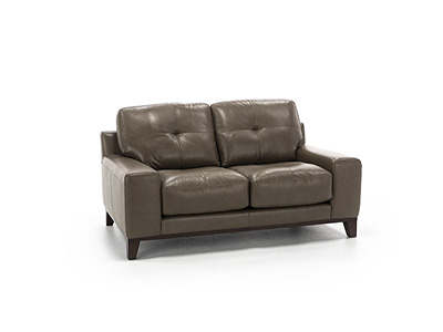 Ethan Leather Loveseat