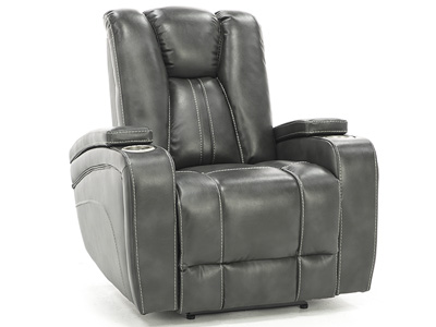 Silver Screen Power Headrest Recliner