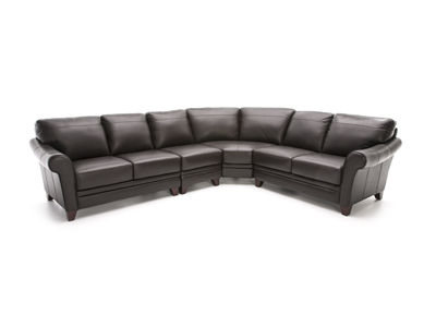 Melissa II 4-pc. Brown Sectional