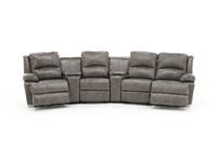 Laredo II Grey 6-pc. Sectional