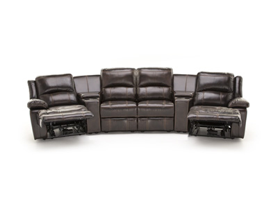 Laredo II Leather 6-pc. Power Reclining Modular