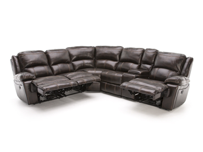 Laredo II Leather Power Reclining Modular