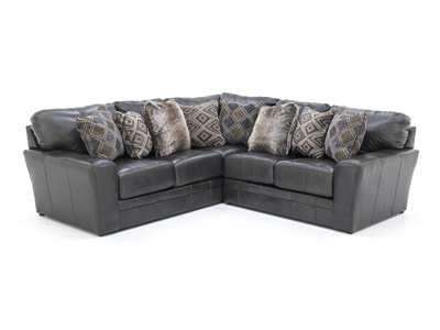 Camden Leather 2-pc. Sectional