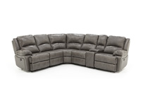 Laredo ii grey 6 pc sectional steinhafels for Laredo chat rooms