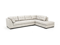 Hamilton Leather 2-pc. Sectional