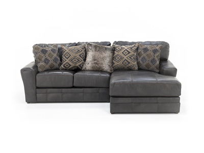 Camden 2-Pc. Leather Sectional