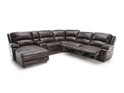 Laredo II Extra Wide Seating Power Recline Modular