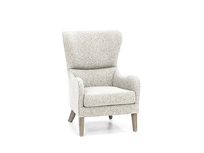 Arianna Scoop Wing Chair