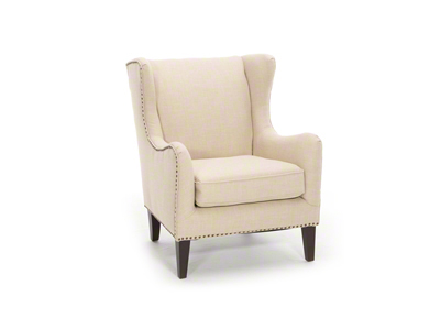 Tudor Wing Accent Chair