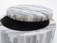 Medium Round Storage Ottoman