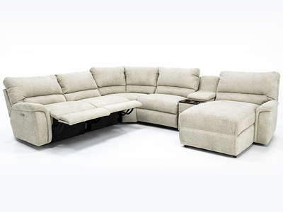 Aspen 6 Pc. Power Reclining Modular