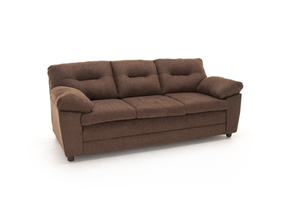 Cougar Chocolate Sofa