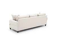 Custom Deep Grande Sofa
