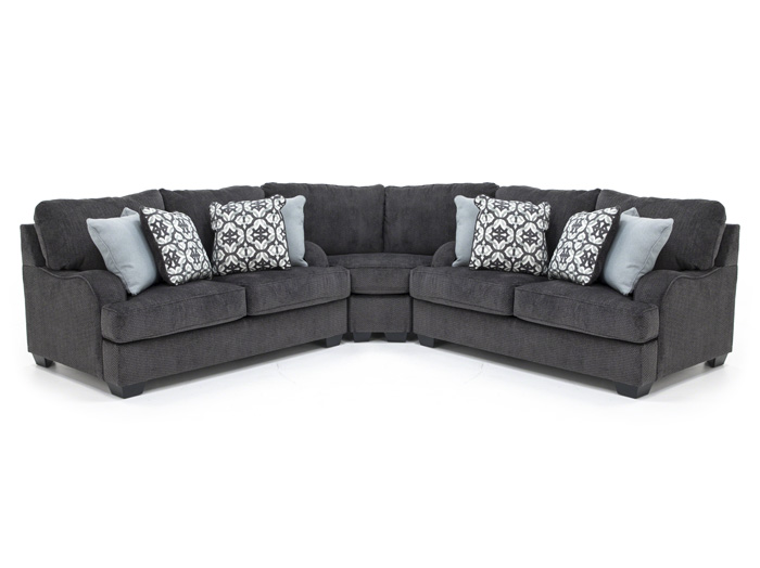 Adams 3-pc. Sectional
