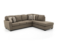 Marvelous Riley 2 Pc Sectional Creativecarmelina Interior Chair Design Creativecarmelinacom