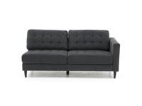 Excellent Mercury 2 Pc Sectional With Free Ottoman Inzonedesignstudio Interior Chair Design Inzonedesignstudiocom