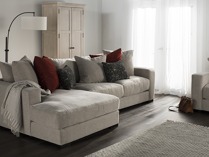 Lombardy 2-pc. Chaise Sofa