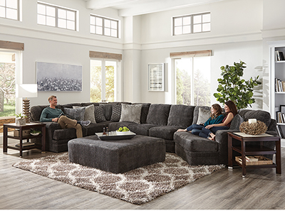 Snuggler 3-Pc. Sectional