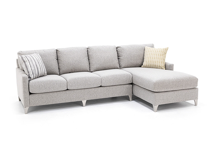 Custom 2-Pc. Chaise Sectional